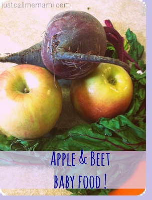 Apple and Beet Baby Foodsmall